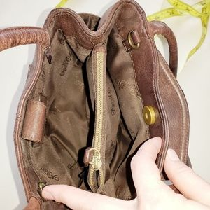 Fossil Bags - Fossil Brown Leather Mini Shoulder HandBag Purse